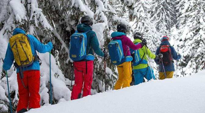 Freeride Ski-Opening Saalbach